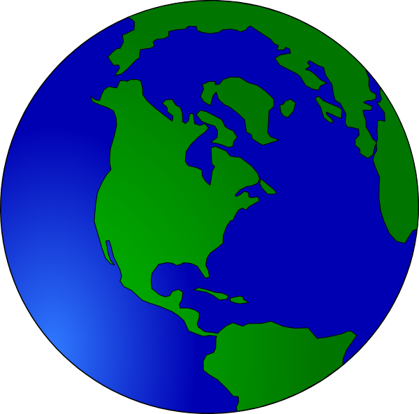 Moving clipart earth #5