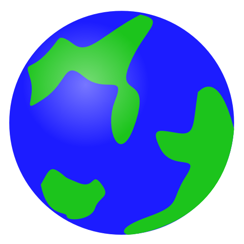 Moving clipart earth #7