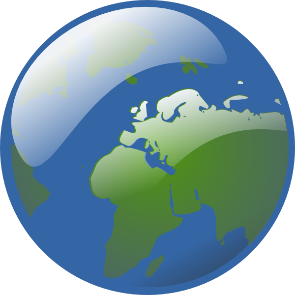 Moving clipart earth #9