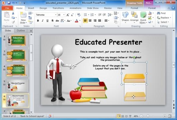 Moving clipart education Educational Blackboard Editable For Template