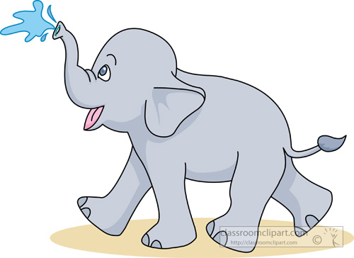 Moving clipart elephant #8