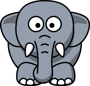 Moving clipart elephant #13