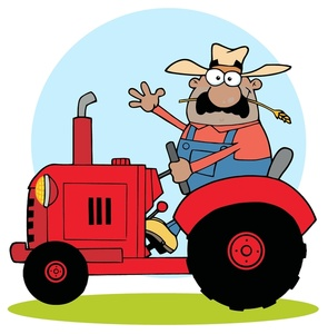 Moving clipart farmer Tractor Farm Cliparts clipart Animated