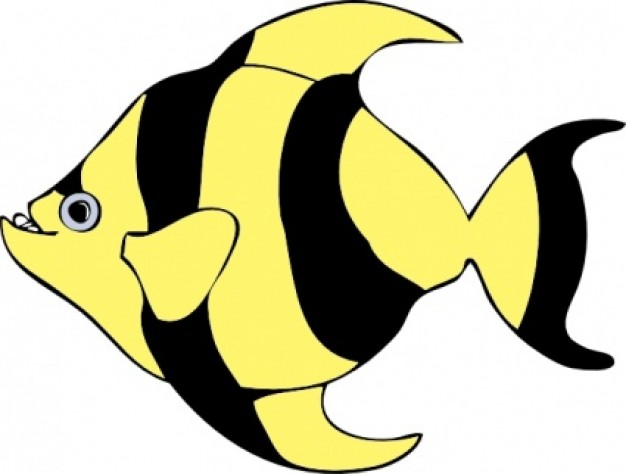 Moving clipart fish #14
