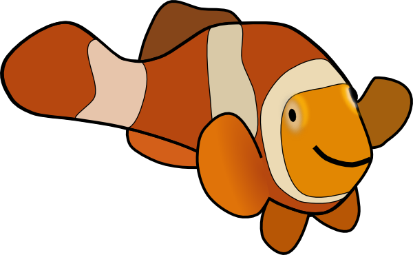 Moving clipart fish #13
