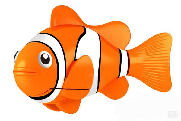 Moving clipart fish #2