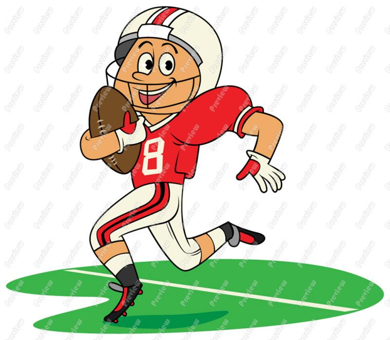 Moving clipart football Clipart Animated  football clipart