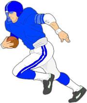Receiver clipart cool football Football football clipart Art Clipart
