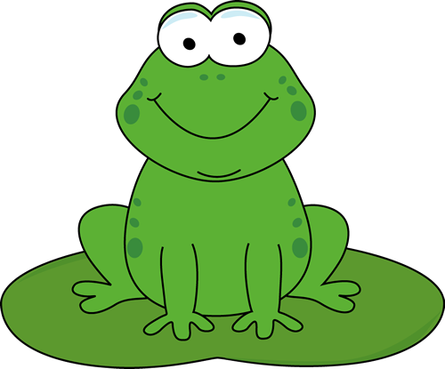 Moving clipart frog #5