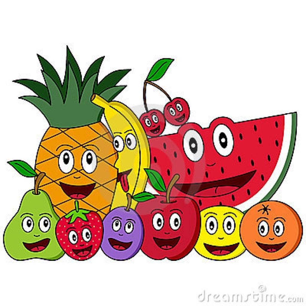 Moving clipart fruit Fruit cartoon  fruit regarding