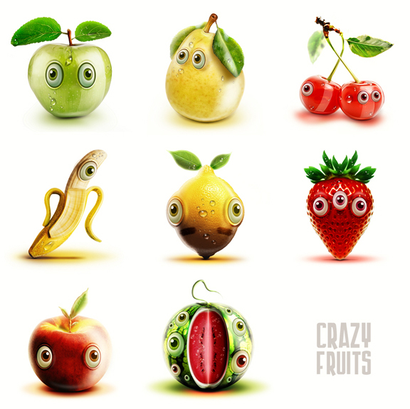 Moving clipart fruit Alexander cute by Awesome