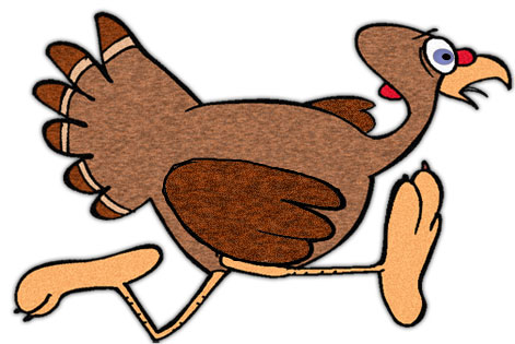 Moving clipart funny Gifs Animated turkey on Free