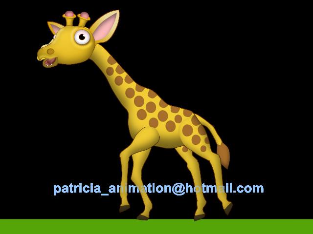 Moving clipart giraffe Cycle Giraffe Cartoon Image topic