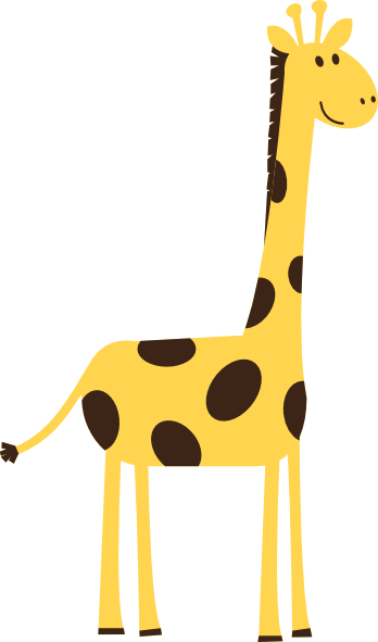 Moving clipart giraffe Clipart Animated Monday Happy Clipart