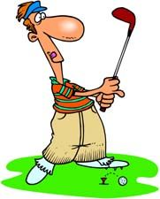 Moving clipart golf #15