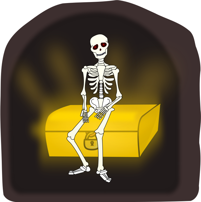 Coffin clipart skeleton Clipart Halloween regrets? Graphics Free