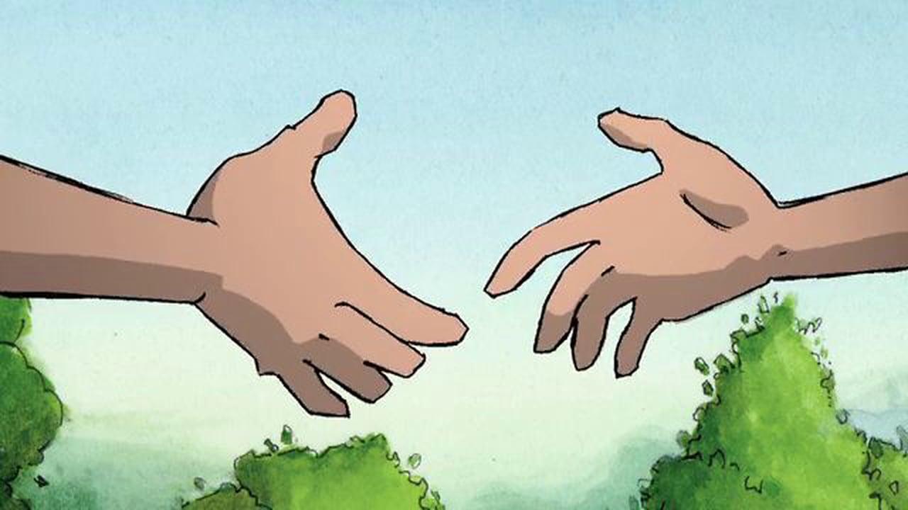 Moving clipart handshake Animated on Animated (2004) Vimeo