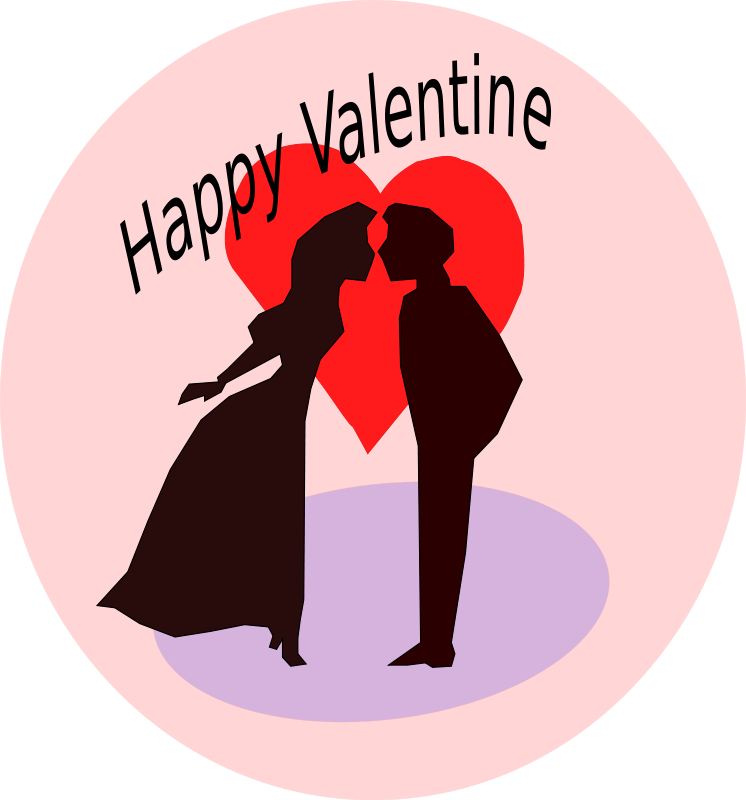 Kisses clipart animated Kissing Graphics Valentines Animations Couple