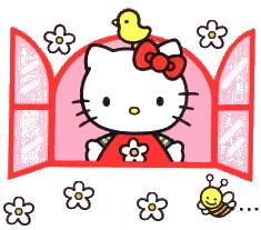 Moving clipart hello Kitty art Hello Clip clip