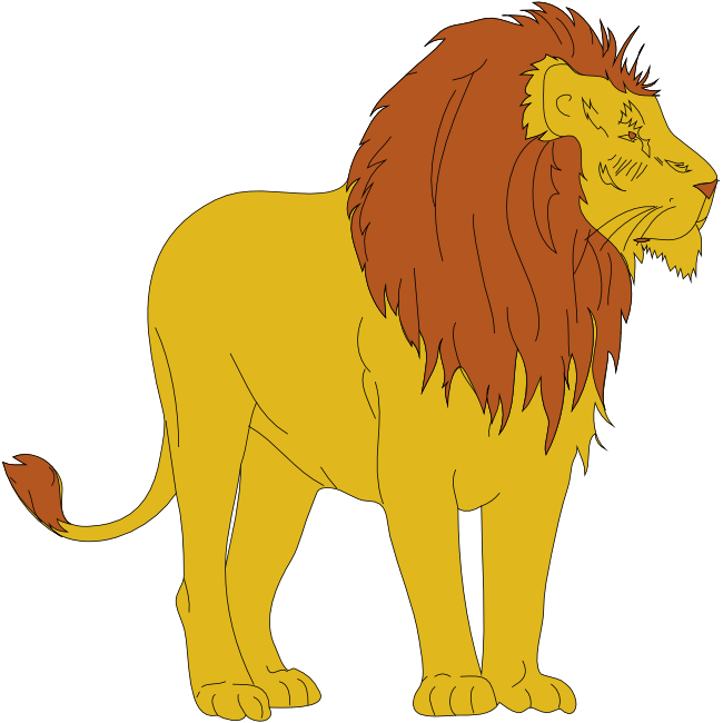 Moving clipart lion Lion Animations and Free Lion