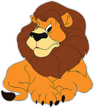 Moving clipart lion Lion watching Images Graphics Lions