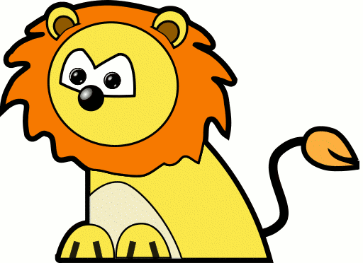Moving clipart lion Cartoon Animations and Free Lion