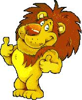 Moving clipart lion Animated Lion Clipart