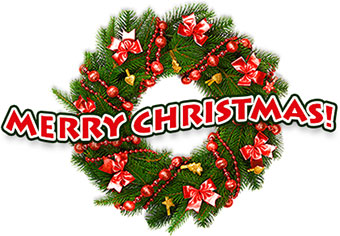 Moving clipart merry christmas #11