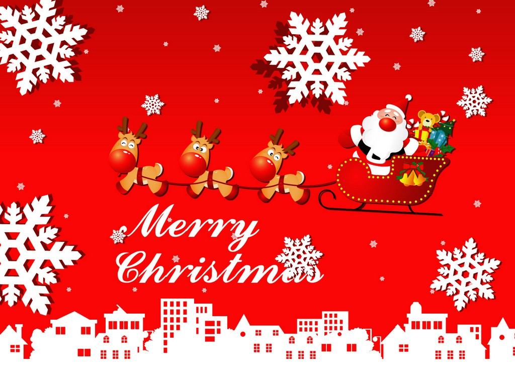 Moving clipart merry christmas #3
