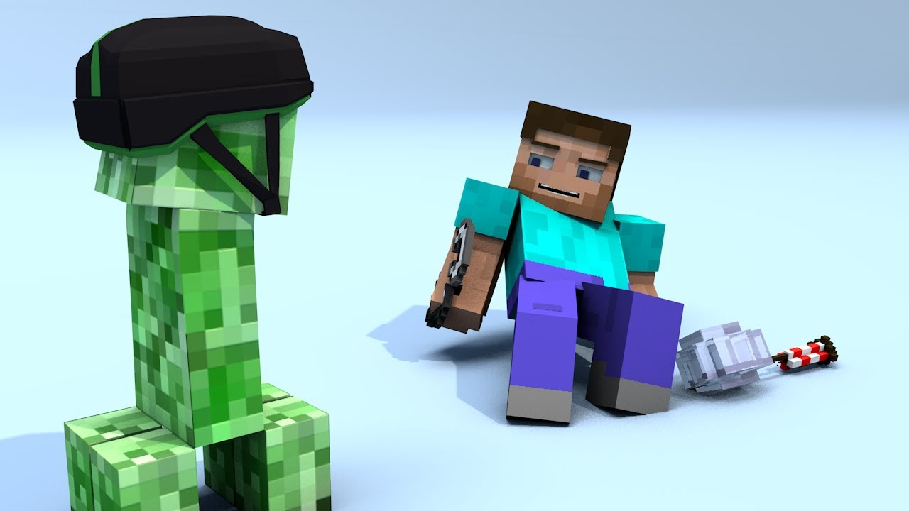 Minecraft clipart animated #2