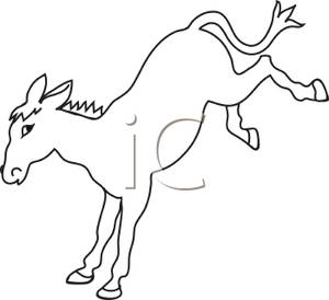Moving clipart mule #8