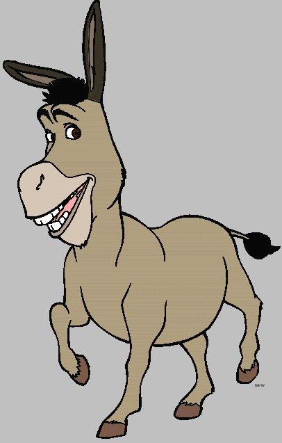 Moving clipart mule Akame Shrek Character Clipart Images