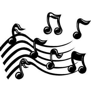 Moving clipart music notes #1