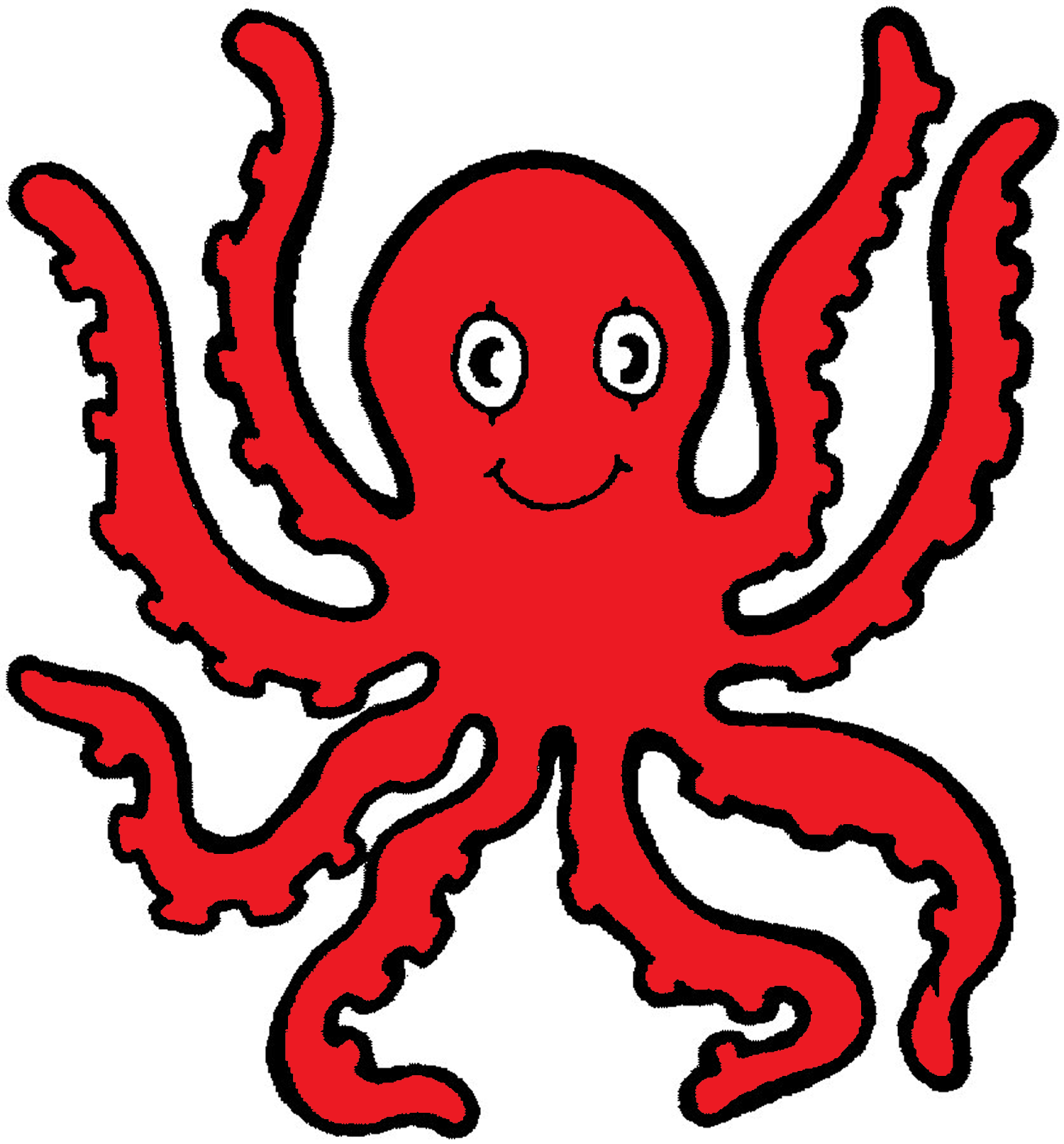 Moving clipart octopus #10