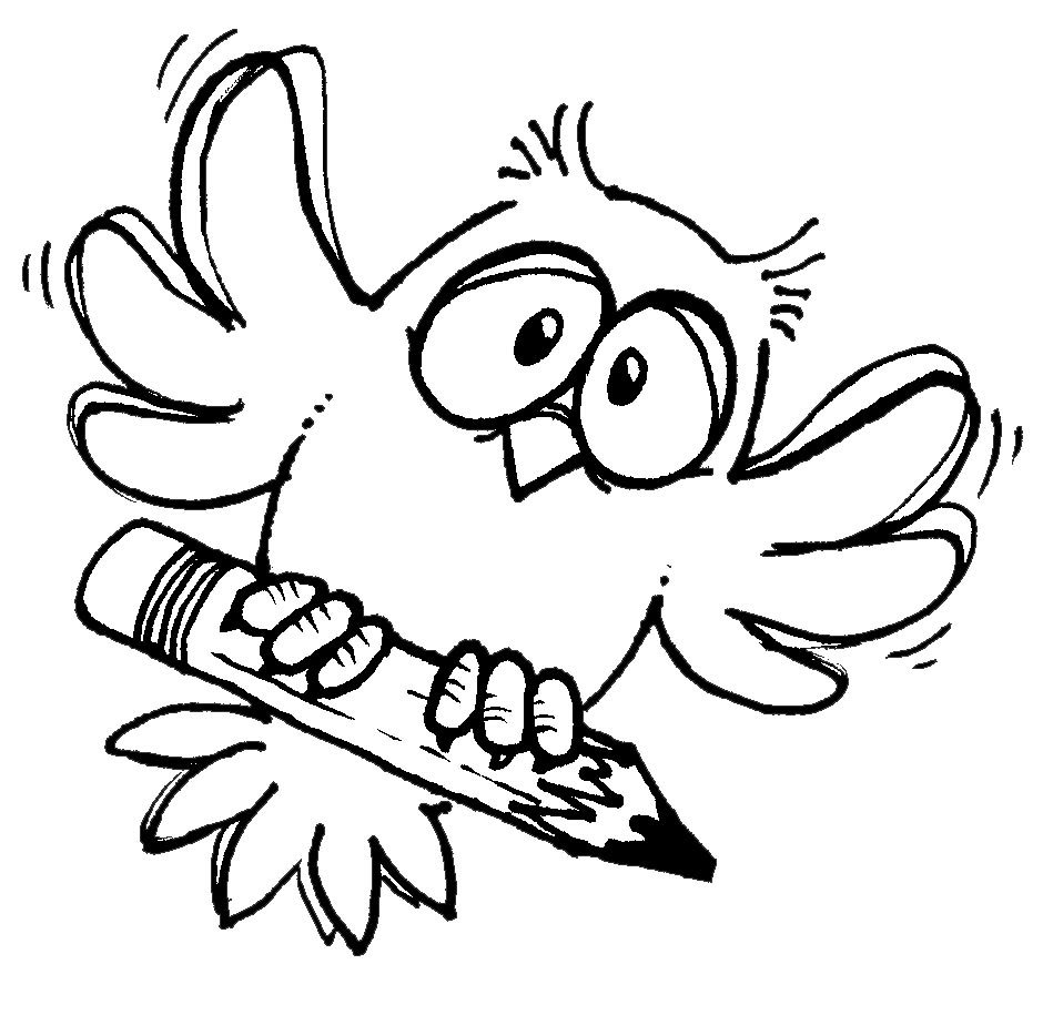 Owlet clipart writing Free Art Free Animated Pictures
