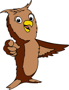 Moving clipart owl Pointing & Owl owl Owls