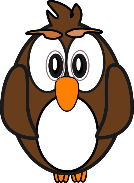 Moving clipart owl Art at Art Cartoon image