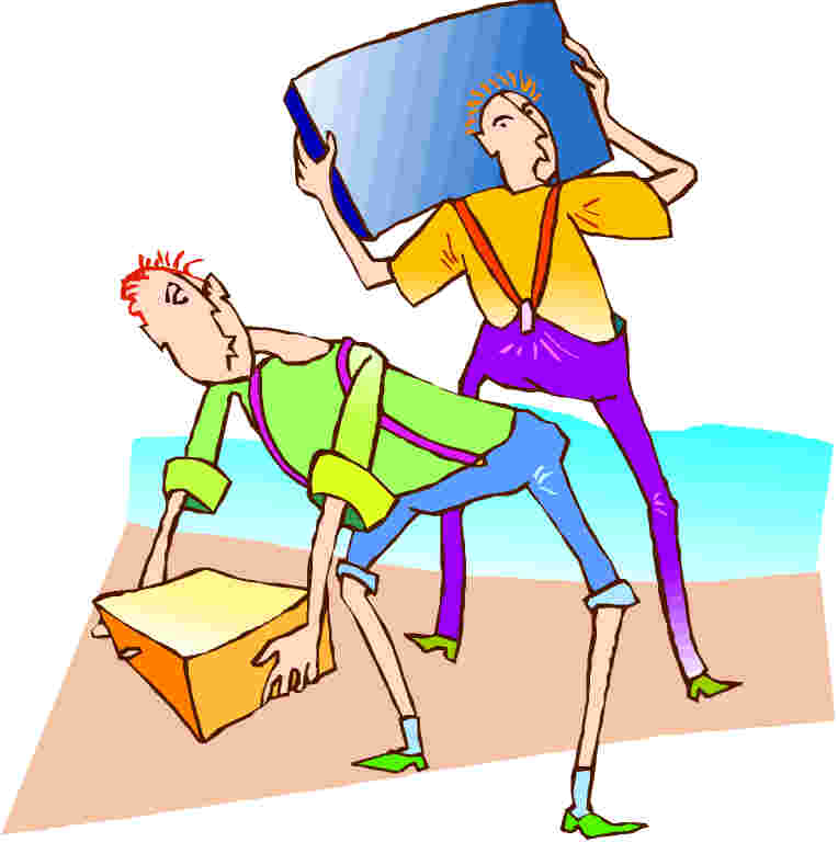 Moving clipart party Clip Art Moving Moving art