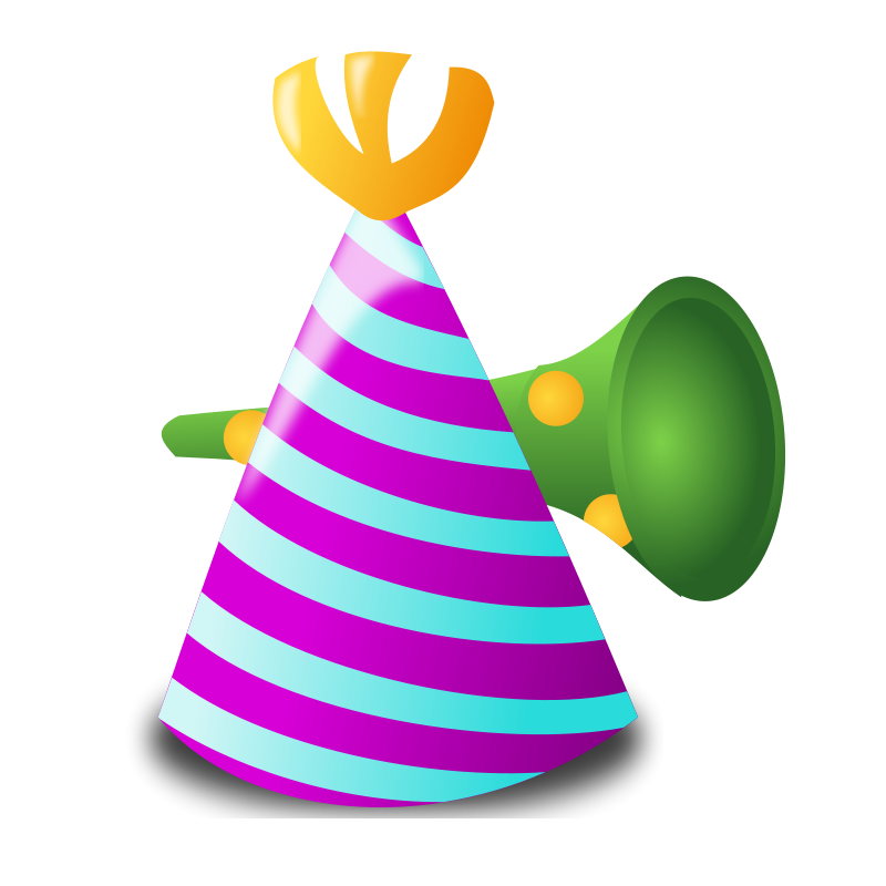 Birthday clipart noise maker Party Graphics of Free Parties