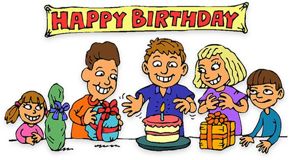 Moving clipart party 2017 children Birthday Animations Clip
