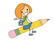 Moving clipart pencil #10