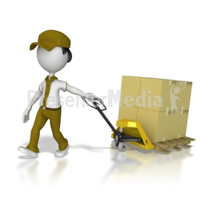 Moving clipart powerpoint presentation  Product Product Warehouse Worker
