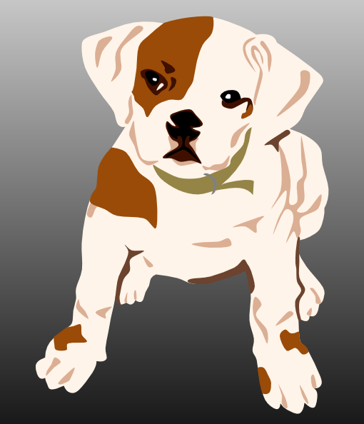 Moving clipart puppy #7