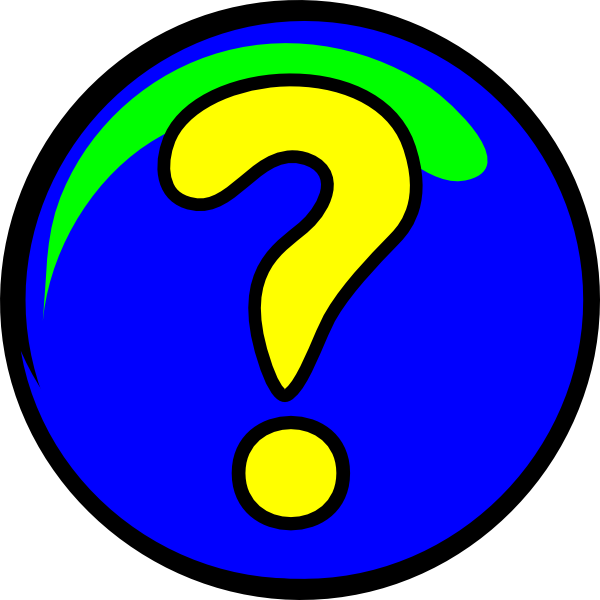 Moving clipart question Question Free Art library Mark