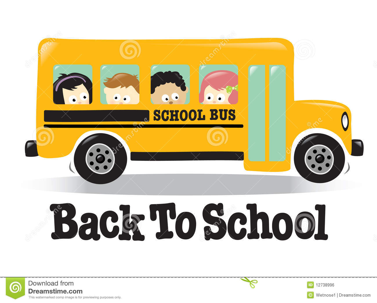 Cute clipart school bus Free  To To Animated