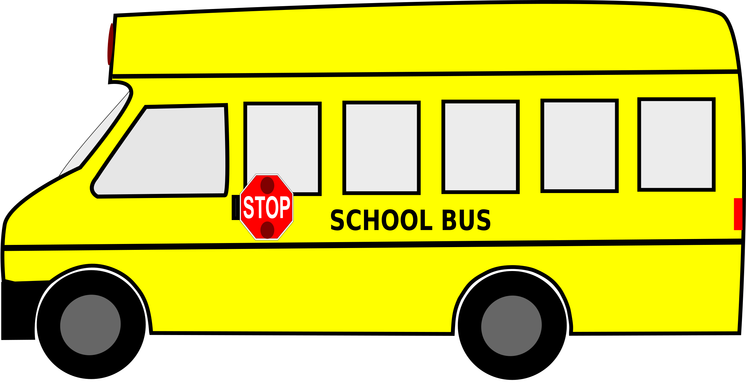 Moving clipart school bus School Free Clipart Clipart SVG
