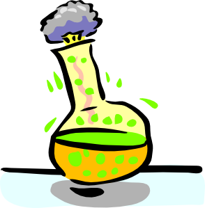 Moving clipart scientist #9
