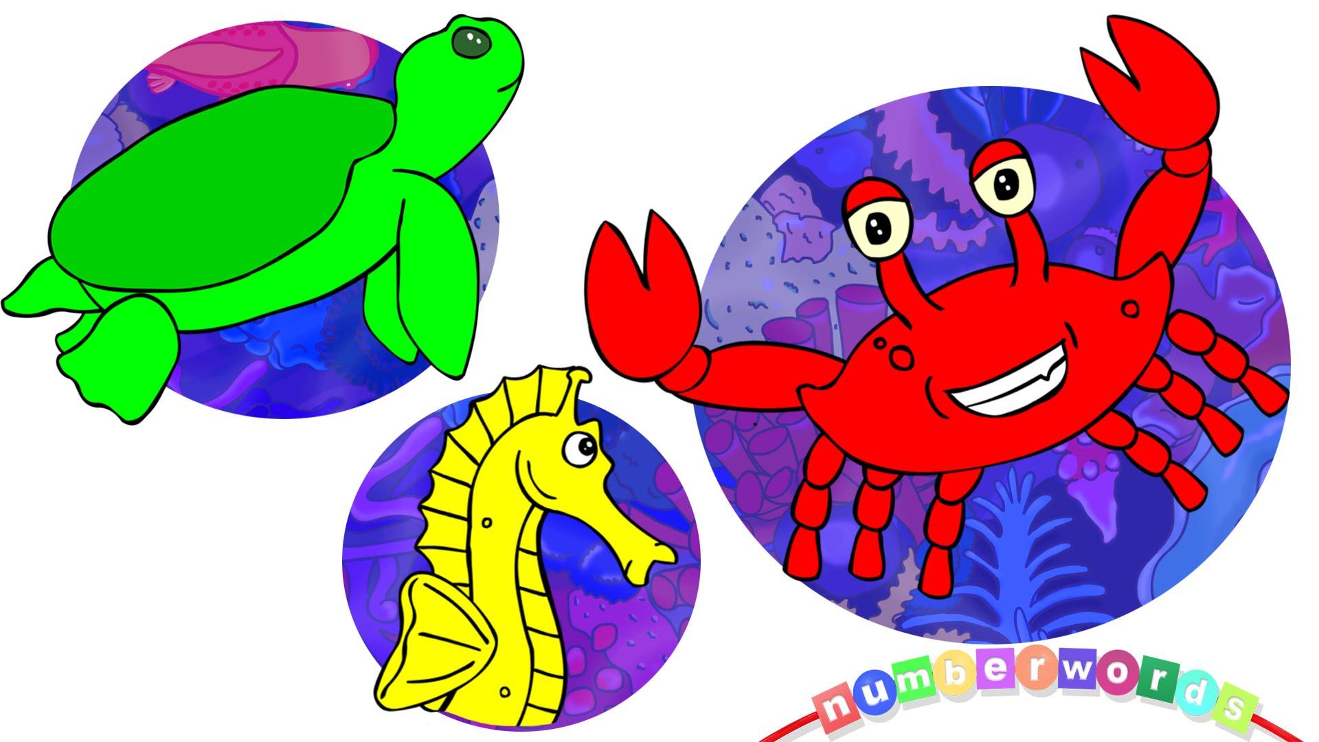 Moving clipart sea creature #13
