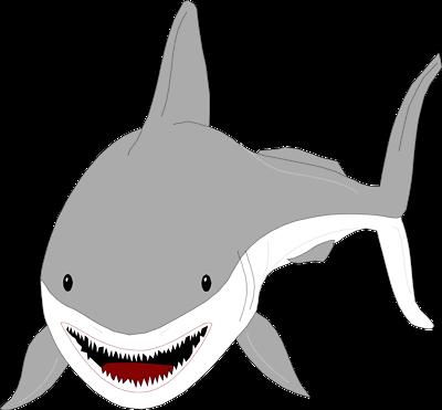 Tiger Shark clipart great white shark #2