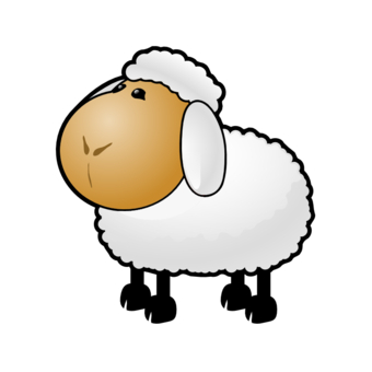 Moving clipart sheep Cartoon art Animated sheep sheep